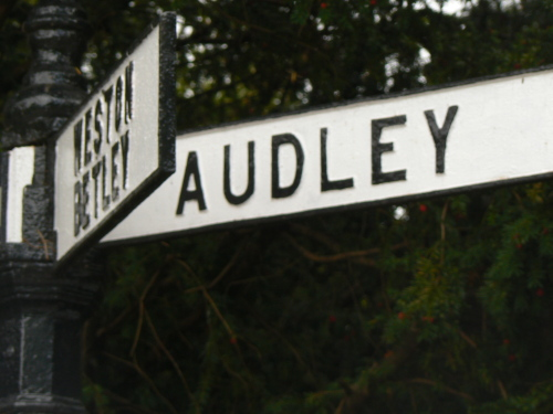 This way to the Audley One Name Study